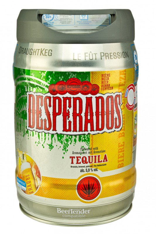 desperados 5 liter vat kopen. Black Bedroom Furniture Sets. Home Design Ideas