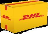 Paket Icon mit DHL Logo