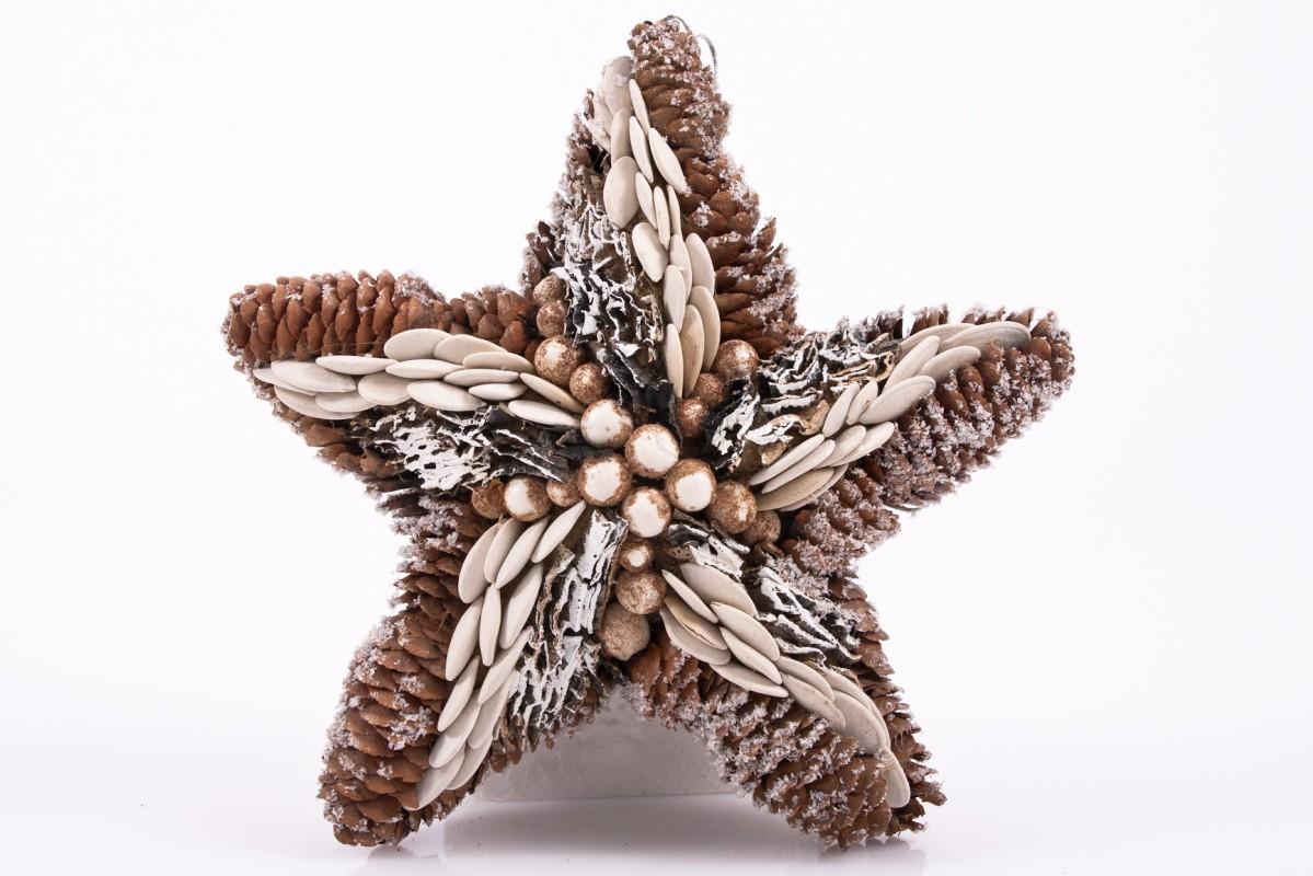 H ngestern natural design rundum dekoriert mit for Dekoration naturmaterialien