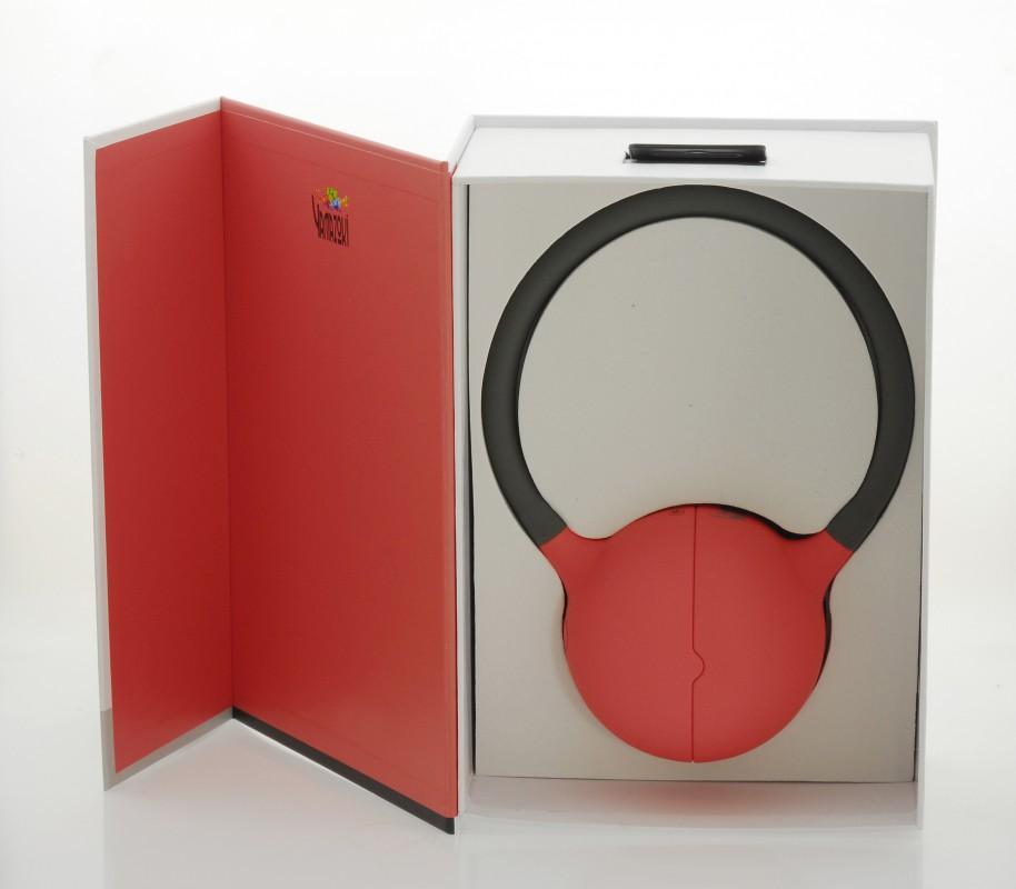 moktak stereo design lautsprecher rot bluetooth nfc tv. Black Bedroom Furniture Sets. Home Design Ideas